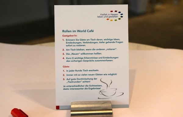 World Cafe Moderator
