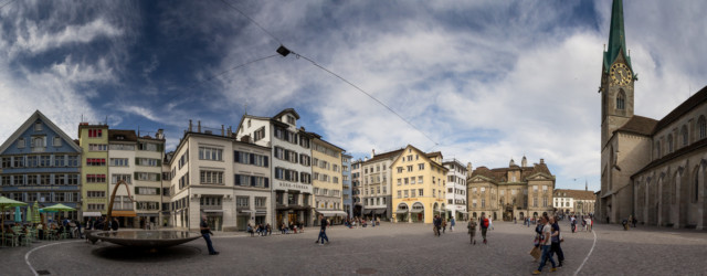 Stadtansicht Zürich